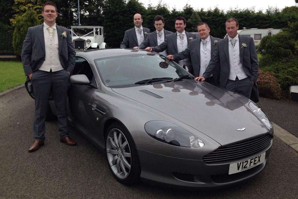 Ferrari 360 Wedding Car Experience. Ferrari 360 U0026 Aston Martin ...