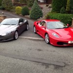 Ferrari 360 and Aston Martin DB9